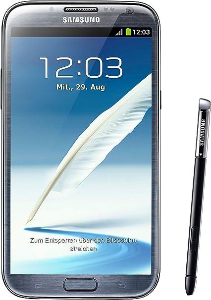 Samsung Galaxy Note II (7100) - Smartphone libre Android (pantalla ...