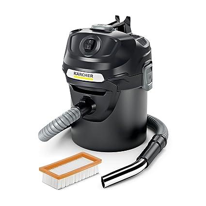 Kärcher AD 2 600W 14L Negro - Aspiradoras de cenizas (14 L, Bolsa,
