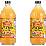 Bragg wkImDE Usda Organic Raw Apple Cider Vinegar, 32 oz (2 Pack)