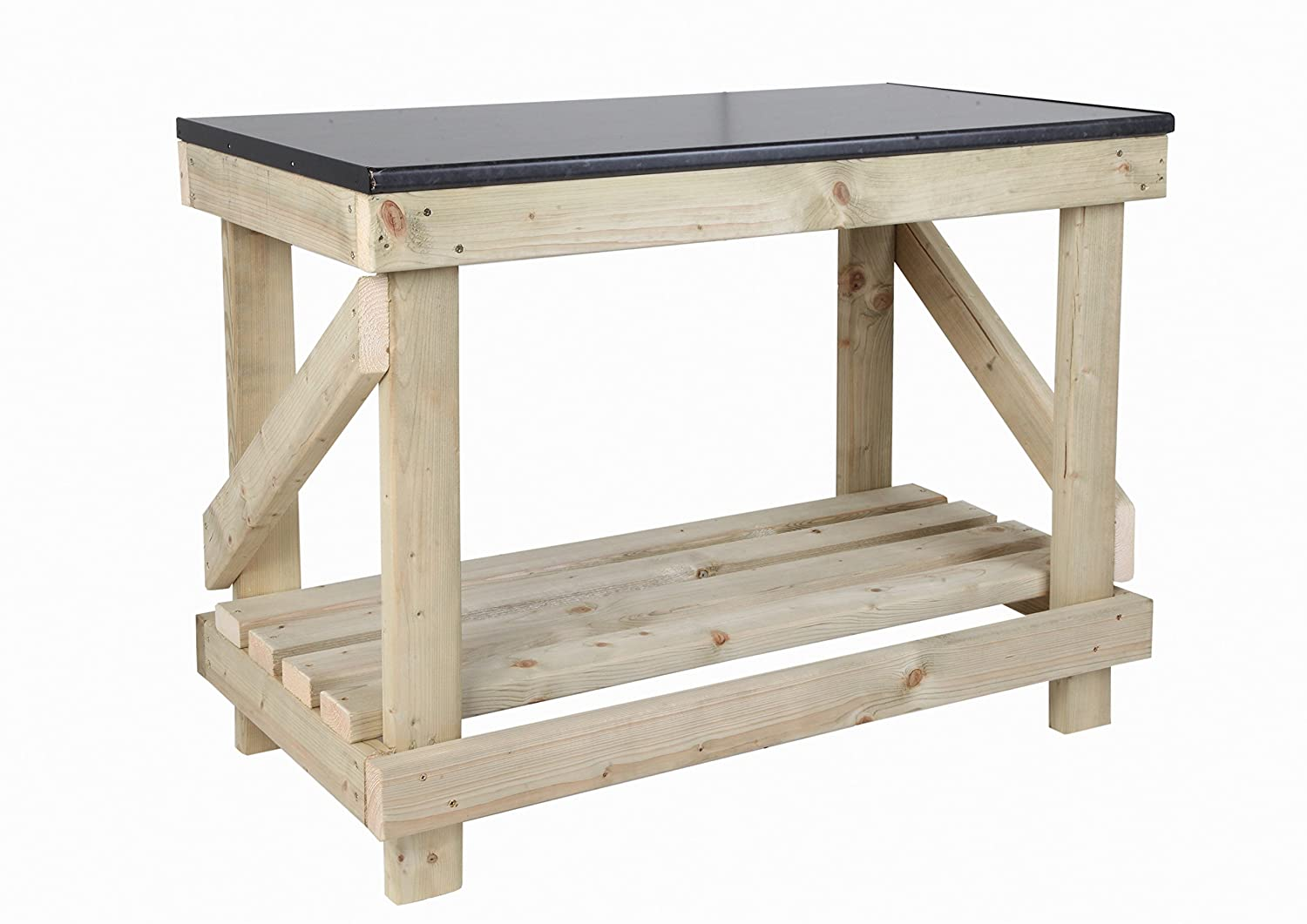 New Hand Made 3 Ft Holz Werkbank Neue Küche Top Style Heavy Duty ...