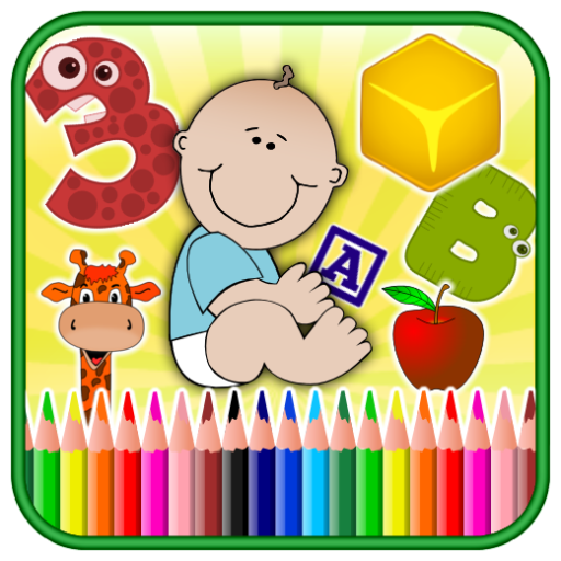 Amazon.com: Alphabets, Numbers, Colors, Shapes, Animals and fruits ...