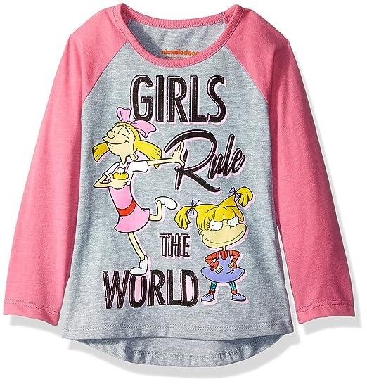 870bdd9e009 Amazon.com: Nickelodeon Girls' Rugrats Long Sleeve Tee: Clothing