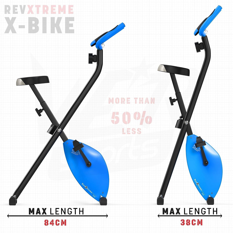 We R Sports X-Bike Blue - Elíptica de fitness (plegable, imán, magnético), color azul: Amazon.es: Deportes y aire libre