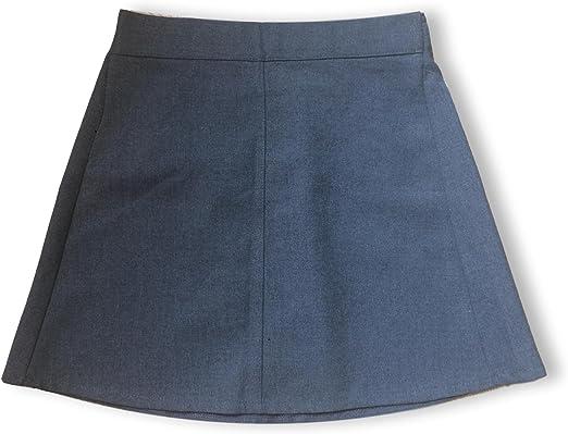 ID School Wear Niña Uniformes Escolares Falda (Gris, 13-14 años ...
