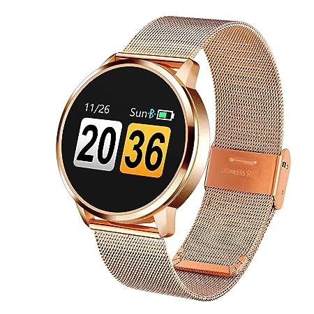MJ-Smartwatch Reloj Inteligente, Reloj de Pantalla Redonda con ...