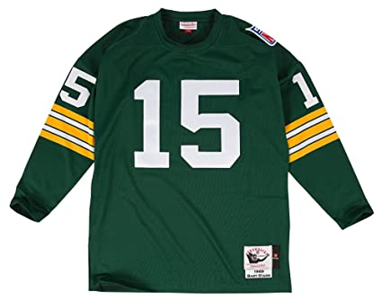 super popular f0aa1 43d74 Mitchell & Ness Bart Starr Green Bay Packers Authentic 1969 Green NFL Jersey