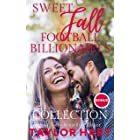 Sweet Fall Football Billionaire Collection: 6 Sweet, Christian Romances