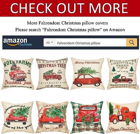 Amazon.com: Fahrendom - Funda de cojín con diseño de ...