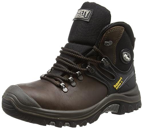Grisport Expert, Zapatos de Seguridad para Hombre, Marrón (Brown), 43 EU
