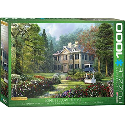 EuroGraphics Longfellow House by Dominic Davison 1000-Piece Puzzle: Toys & Games