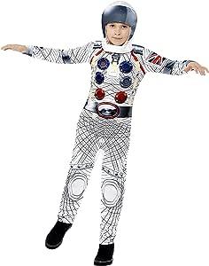 Smiffys - Disfraz deluxe astronauta con mono y casco de impresión ...