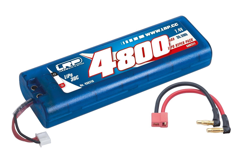 están haciendo actividades de descuento LRP Electronic 430216 430216 430216 – Lipo Hyper Pack 4800, 7.4 V, Rígida, Multi Plug 30 C  grandes ahorros