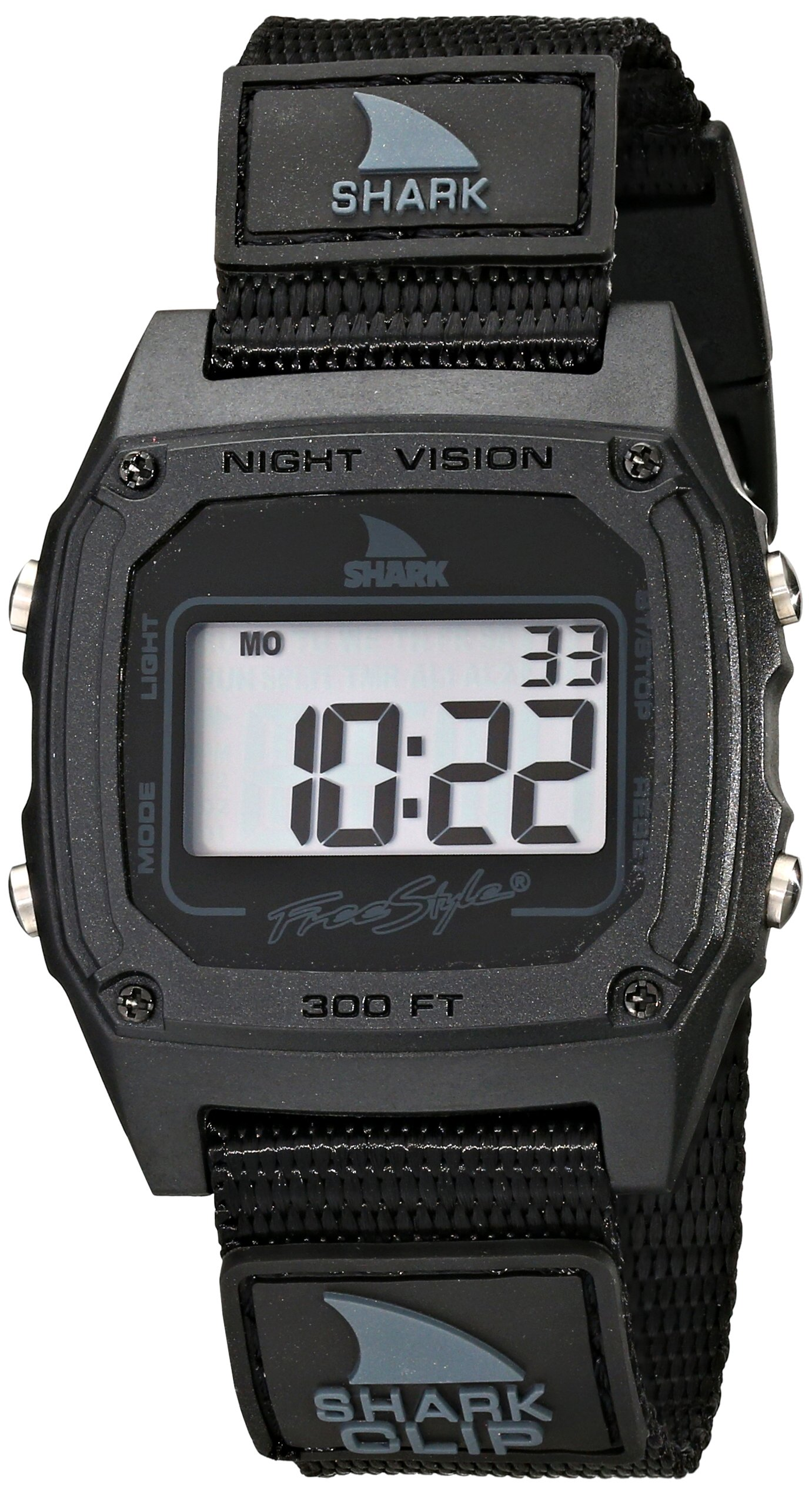Freestyle Men's FS84978 Shark Clip Classic Retro Television Screen Case Digital Watch by Freestyle