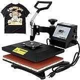 "Super Deal PRO 12"" X 9"" Digital Swing Away Heat Press Clamshell Transfer Sublimation Machine"