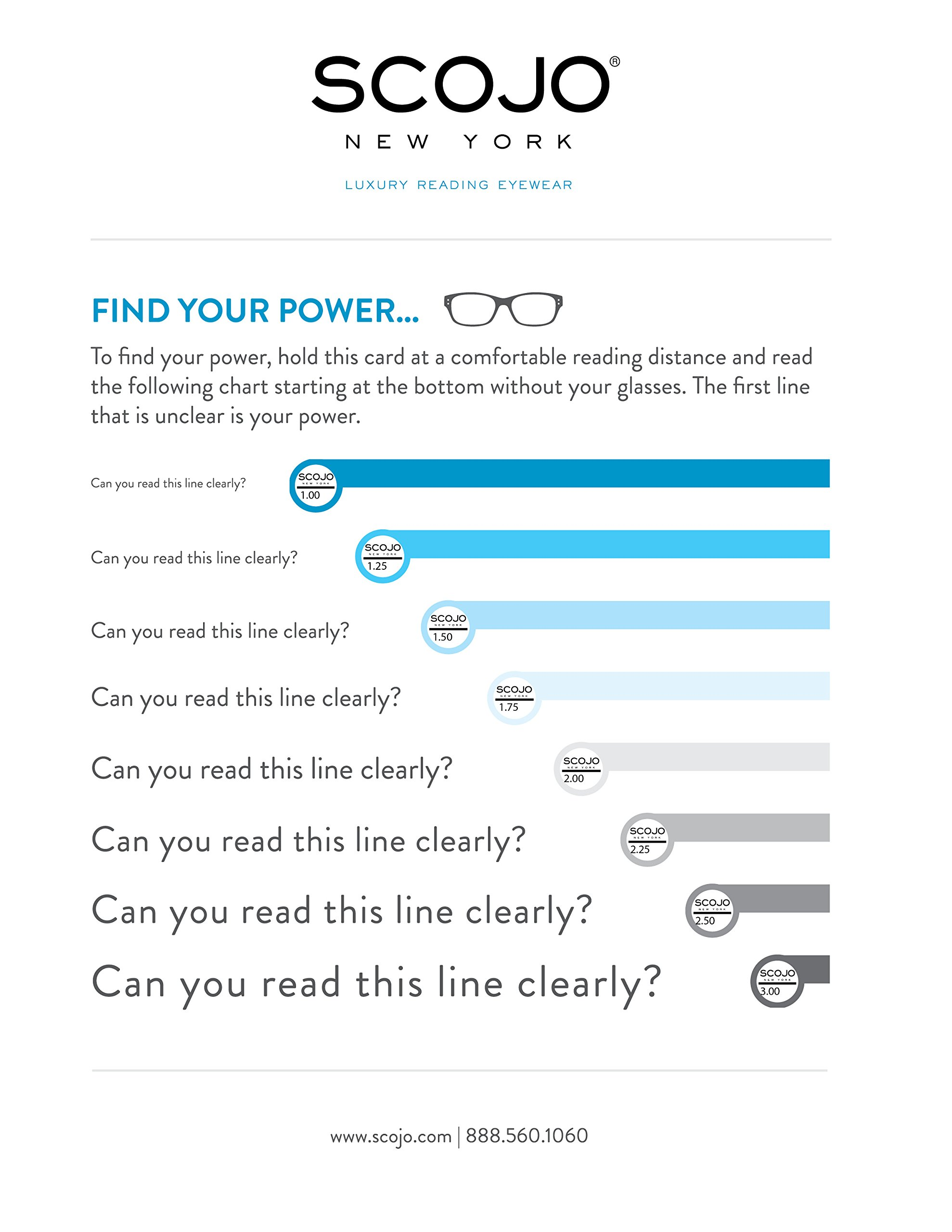Gels - Lightweight Rimless Fashion Readers - The Original Reading Glasses for Men and Women - Tortoise (+1.50 Magnification Power) by Scojo New York (Image #8)