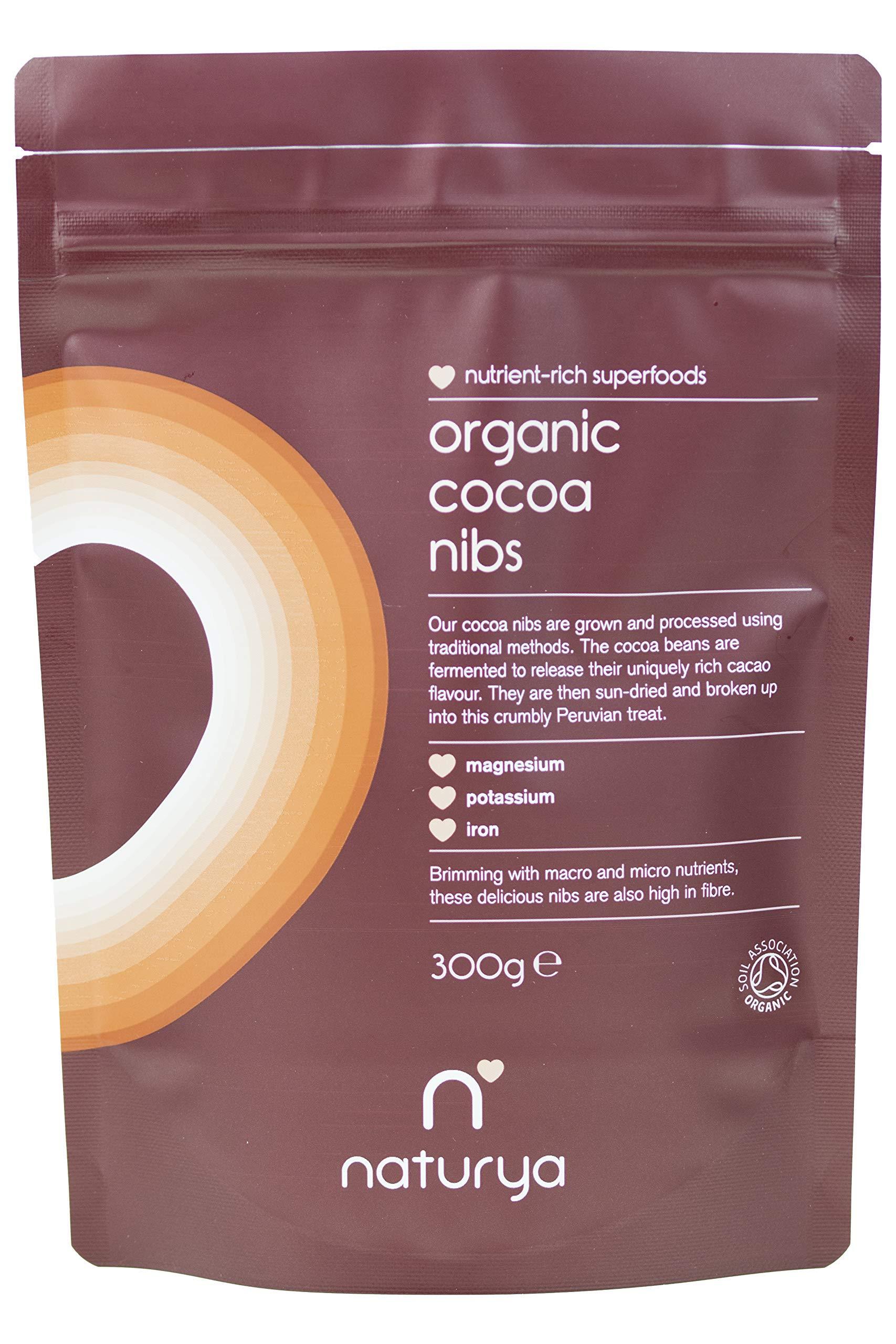 Naturya Organic Cacao Nibs, 300g