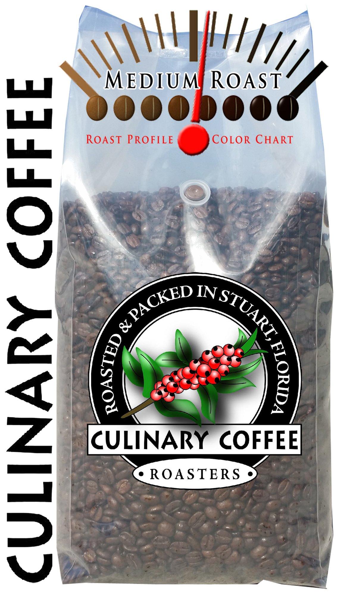 Amazon Culinary Coffee Roasters Medium Roasted Whole Bean