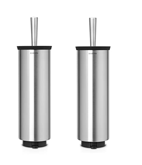 Brabantia Toilet Brush.Brabantia Toilet Brush And Holder Matt Steel 11 5 X 12 5 X 43 Cm