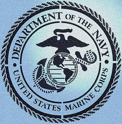 United States Navy Emblem Stencil//TEmplate Reusable 10 mil Mylar