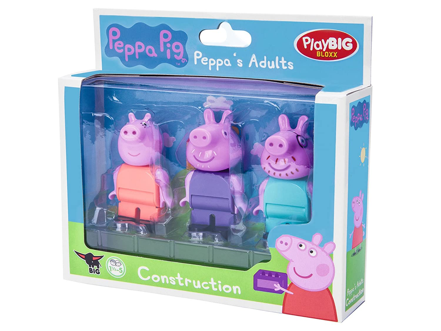 Amazon.com: Playbig Bloxx Peppa Pig Adults: Toys & Games