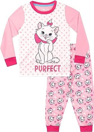 Disney Pijamas de Manga Larga para niñas Aristocats: Amazon.es: Ropa y accesorios