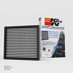 K&N Premium Cabin Air Filter: High Performance, Washable, Lasts for the Life of your Vehicle:Designed For Select 2000-2019 Toyota/Subaru/Land Rover/Jaguar/Lexus/Scion Vehicle Models, VF2000
