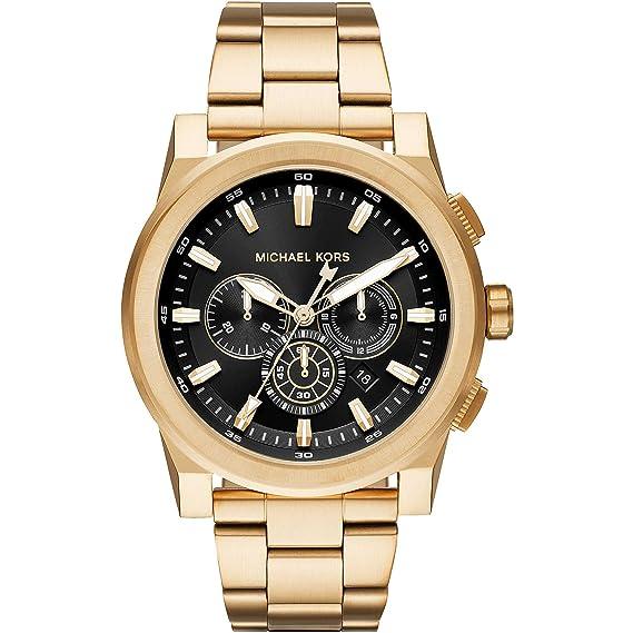 068a8ccef8eeb Michael Kors Reloj Analogico para Hombre de Cuarzo con Correa en Acero  Inoxidable MK8599  Amazon
