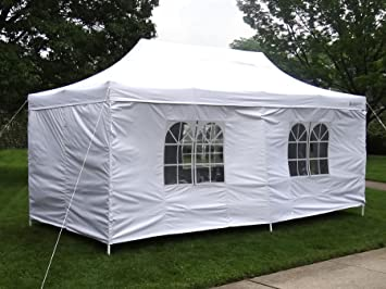 GigaTent The Party Tent Canopy Gazebo Deluxe 10 X 20-feet with Removable sidewalls Heavy & Amazon.com : GigaTent The Party Tent Canopy Gazebo Deluxe 10 X 20 ...