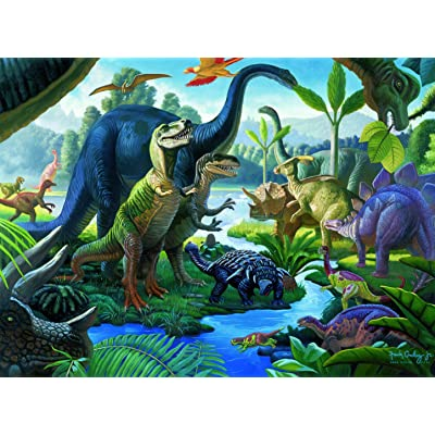 Ravensburger Land of The Giants - 100 Piece Jigsaw Puzzle for Kids – Every Piece is Unique, Pieces Fit Together Perfectly: Toys & Games
