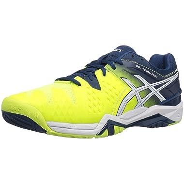 Asics GEL-Resolution 6 Men's Tennis Shoe (10 Color Options)
