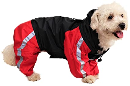 Doxters Full Coverage Dog Raincoat Long Durability Toughcoat Size