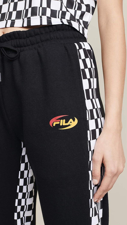 Fila Womens DITA High Rise Sweatpants: Amazon.es: Ropa y accesorios