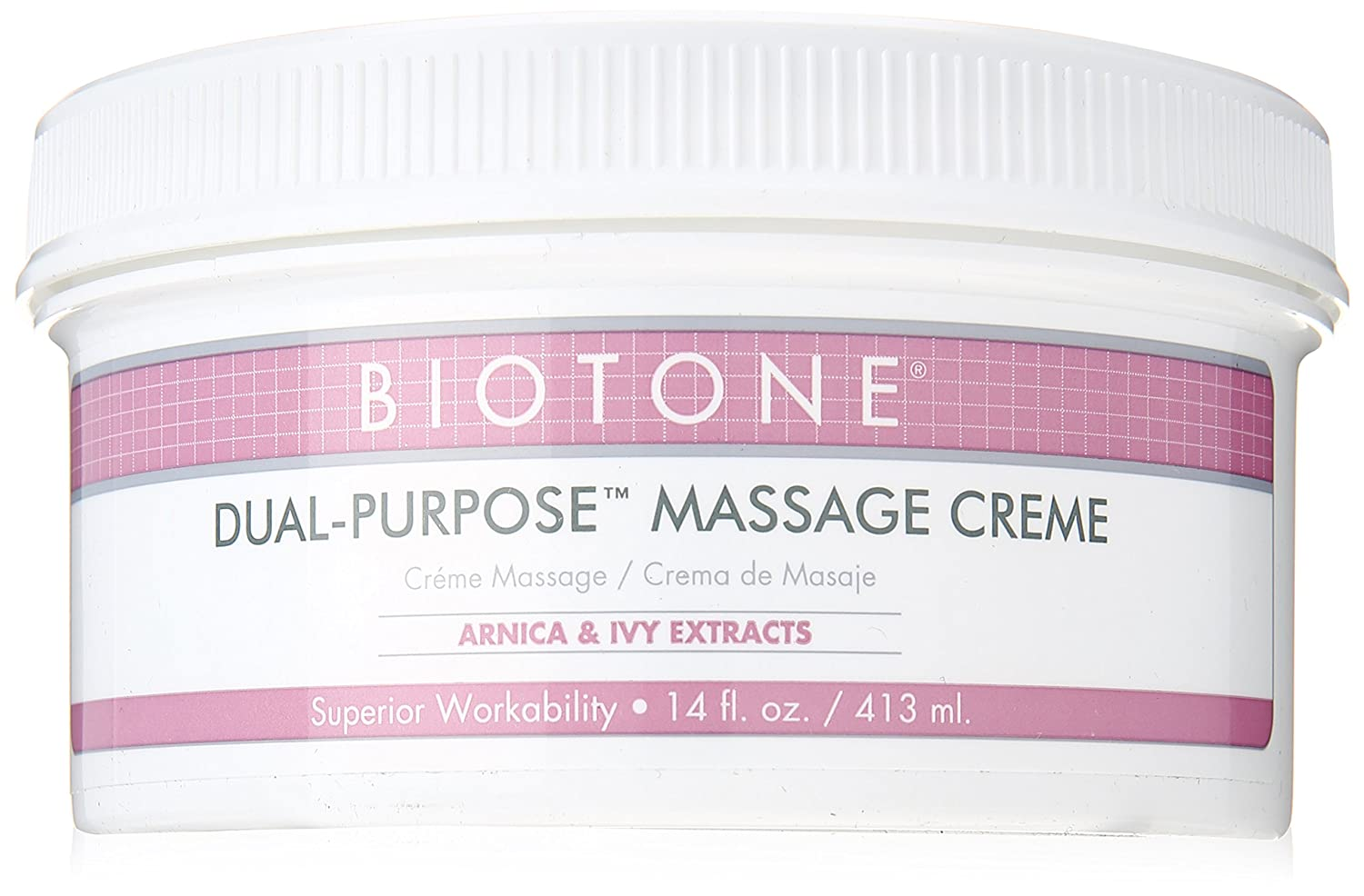 Biotone Dual Purpose Massage Cream - 14 Ounce Jar : Massage Lotions : Beauty