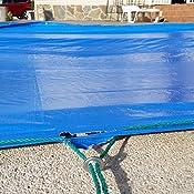 Lona para piscina de 150 g/m² – 5 x 8 m – impermeable: Amazon.es ...