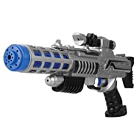 Galactic Wars Space Gun Blaster with Flashing Lights and Sounds - Toy Gun for Kids
