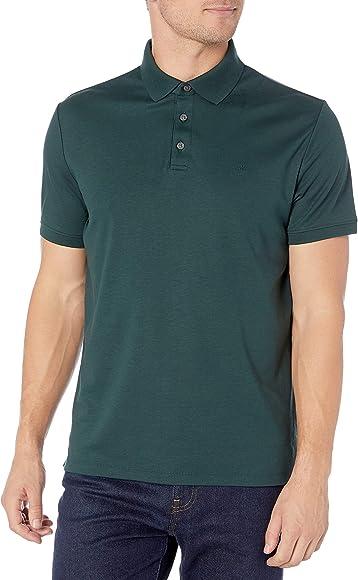 Calvin Klein Polo Liso con protección UV para Hombre - - XX-Large ...