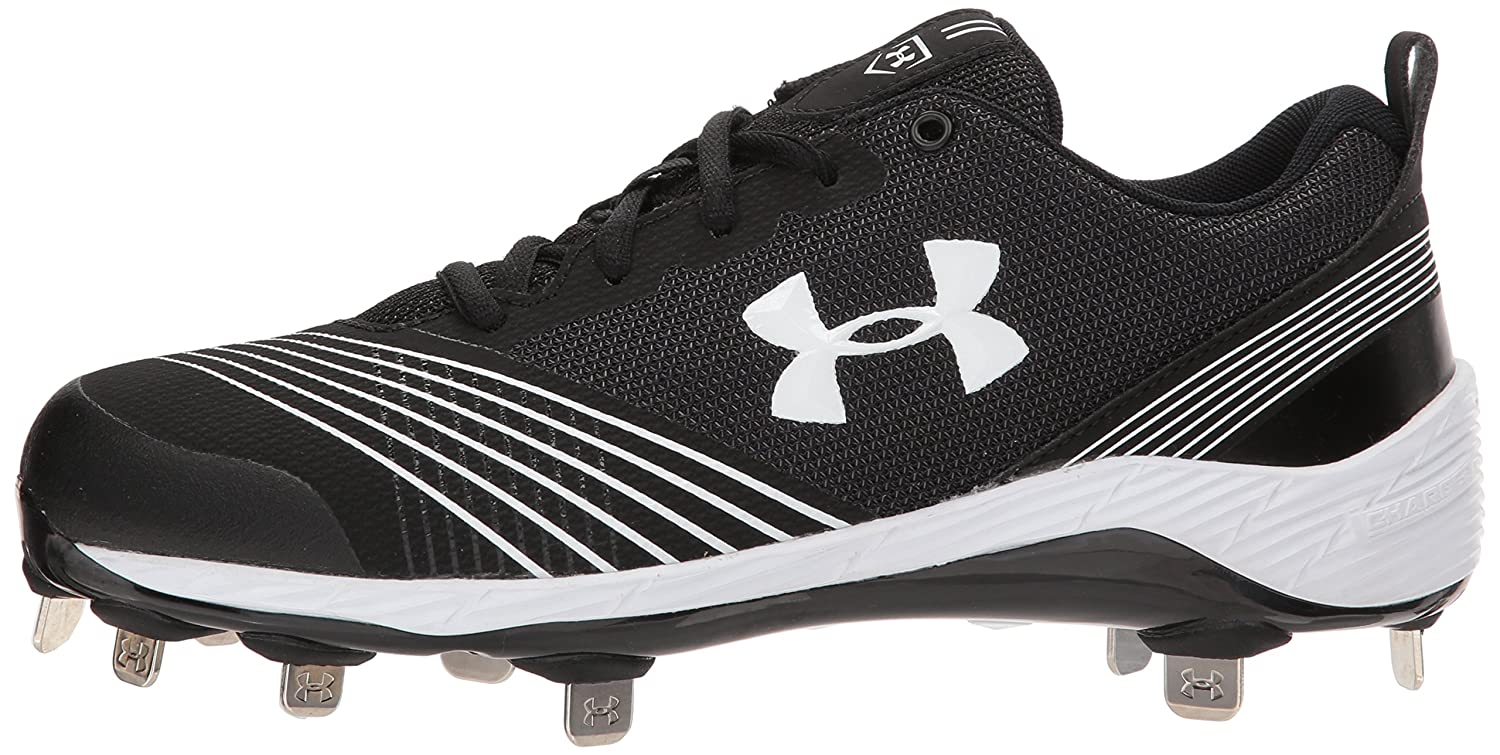 Under Armour Women's Glyde St Softball Shoe B06XCLJKGK 7 M US|Black (011)/Black