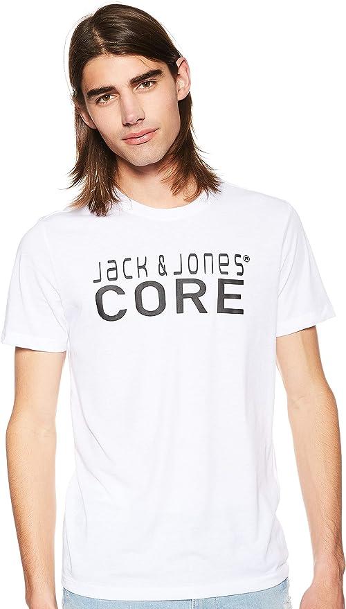 Jack & Jones Jcofoam tee SS Crew Neck-Noos Camiseta para Hombre