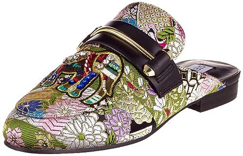 Steve Madden Kera Mule, Mocasines para Mujer, (Multi 16001), 36 EU: Amazon.es: Zapatos y complementos