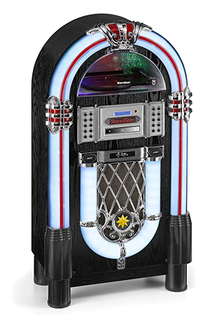 Karcher JB 6608d Jukebox con Tocadiscos - Reproductor de CD ...