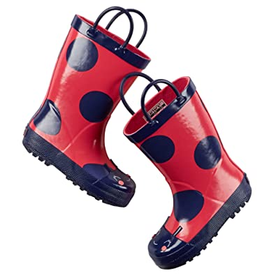 Amazon.com | Carter's Girls Rain Boots (Toddler/Little Kid) (3 Y ...