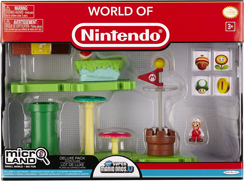 Jakks Pacific - Nintendo Micro Playset Deluxe Pack Serie 1, Modelo ...