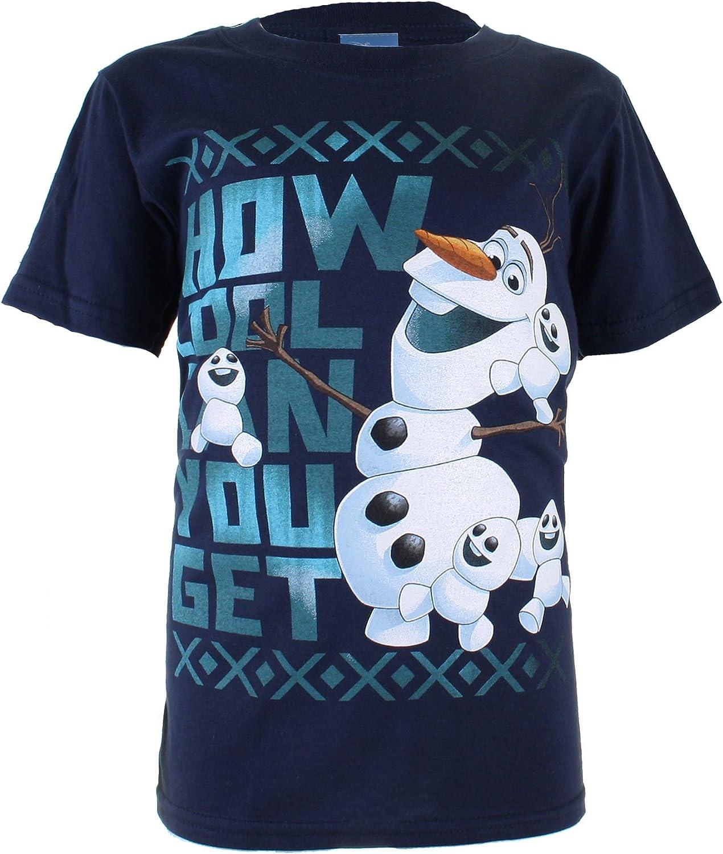 Disney Frozen Girls Cool Olaf T-Shirt