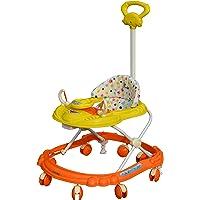Sunbaby Hot Racer Musical Walker, Yellow/Orange