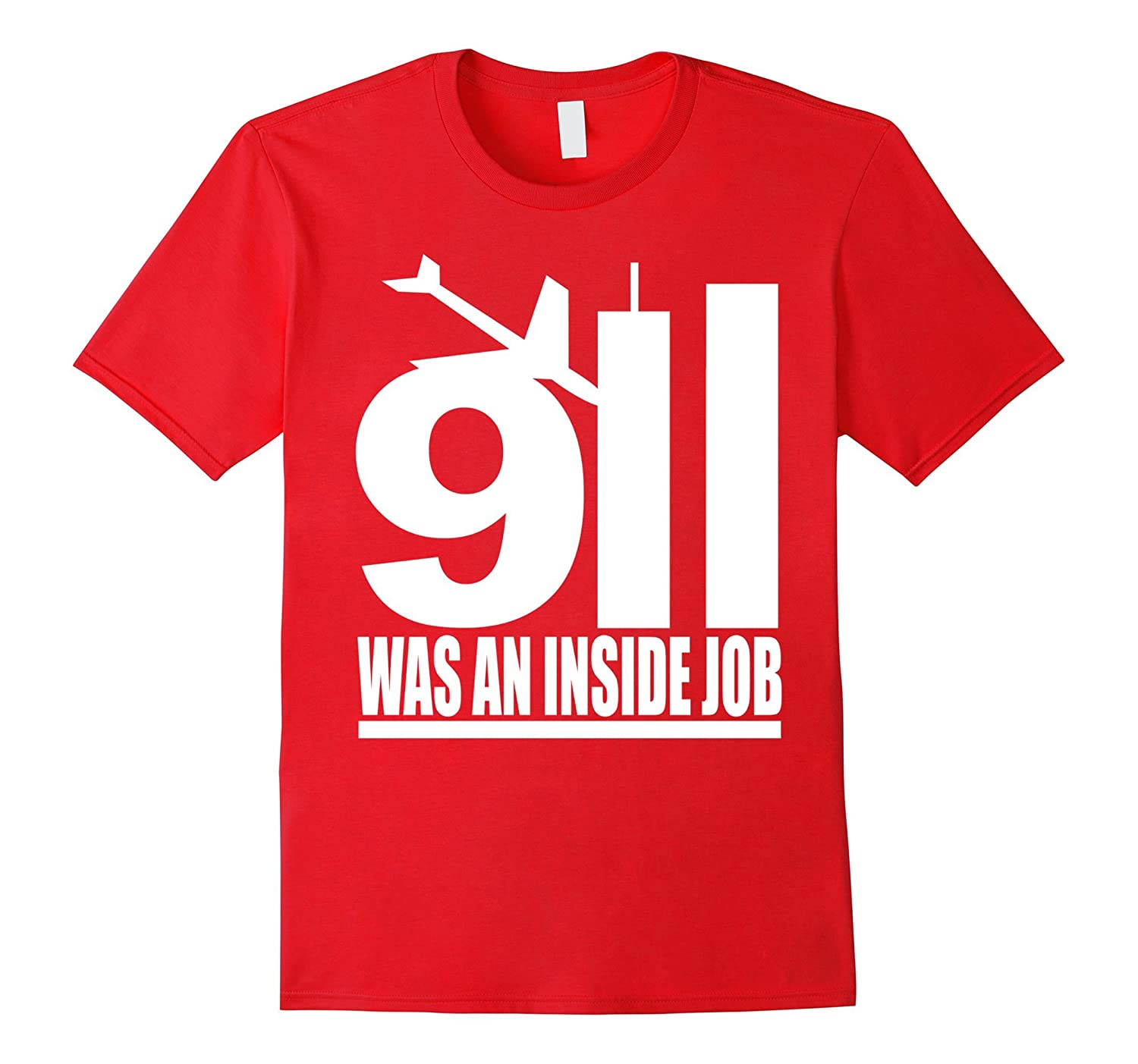 9/11 was an inside job white style T Shirt-TH