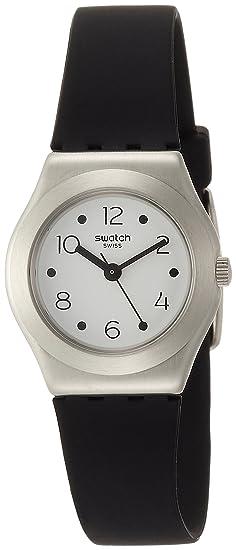 Swatch Reloj Analogico para Mujer de Cuarzo con Correa en Silicona YSS315: Amazon.es: Relojes