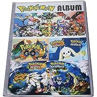 Kiditos Pokemon Trading Card Album - 8 Pocket (Total 192 Pocket)