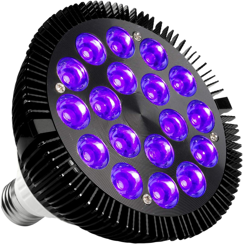 Black Light Bulb, KINGBO 36W