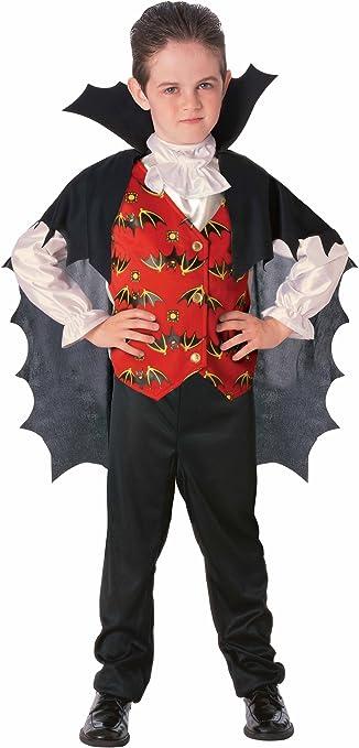Disfraz de Conde Drácula para niño, infantil 8-10 años (Rubies ...