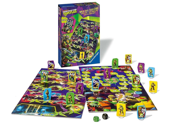 Tortugas Ninja - Juego de dados (Ravensburger 22248 3 ...